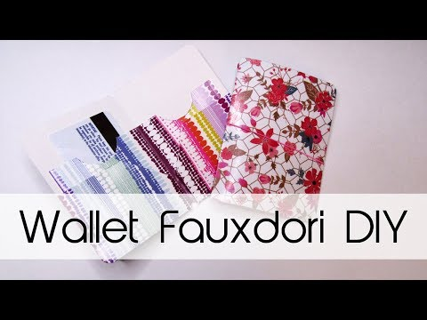 Wallet Fauxdori DIY | Midori / Traveler's Notebook | Creation in Between