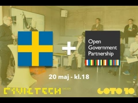 Civic Tech Sverige | Have a say on the openness of Sweden!