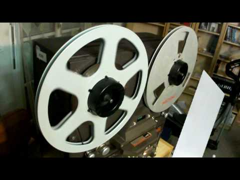 Italo Disco Mix Tascam 34B Reel To Reel Analog Cutting Part 2 (Outtakes)   HD 720p