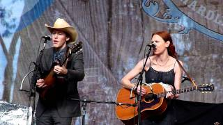 """Scarlet Town"" Gillian Welch and David Rawlings at HSB 2011"