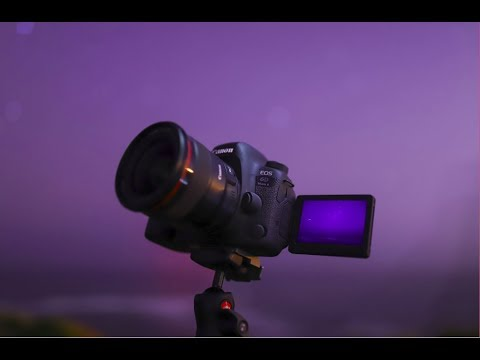 World-first Canon EOS 6D Mark II Astrophotography Time-lapse