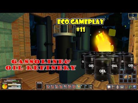 Eco 5.5 gameplay Episode 11 | Gasoline runs the world |