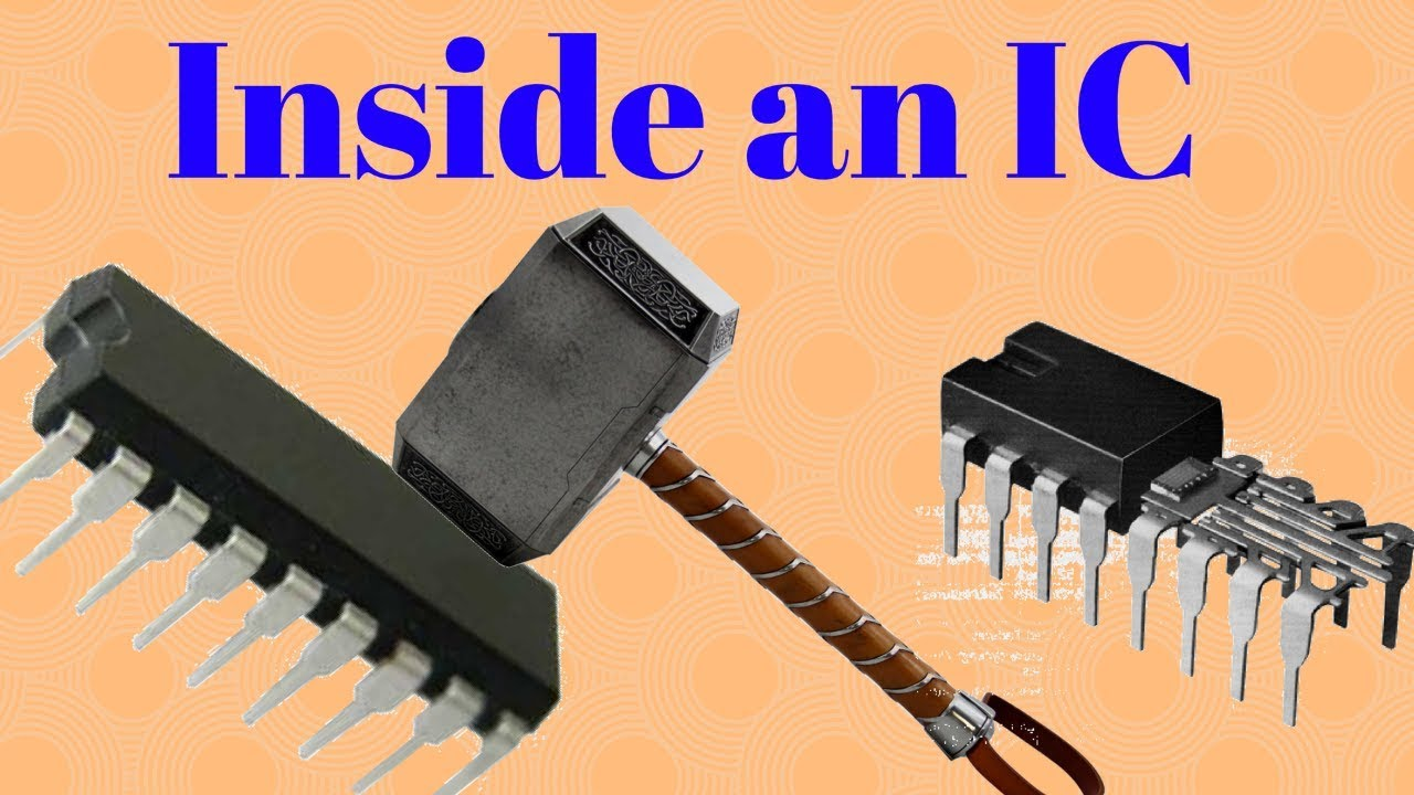 inside an ic youtube rh youtube com Integrated Circuit Manufacturers Integrated Circuit Symbol