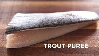 Smoked Trout Purée