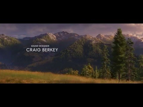 The Good Dinosaur - Landscape Photography At Credits Title (HD)
