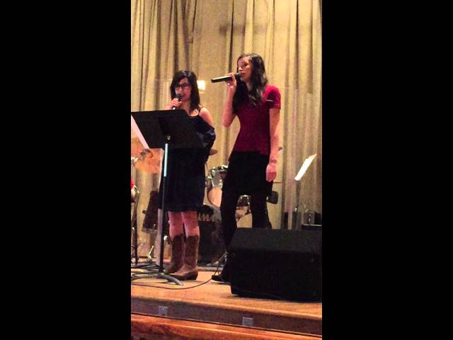 "Camilla Tutt sings ""On Fire"" with Tori Horne"
