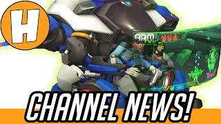 Overwatch - Anniversary Event Stream News/Channel Update! | Hammeh