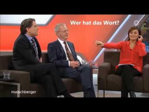 Deutsche Gesprächskultur  In Wort und Bild