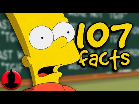 107 Bart Simpson Facts YOU Should Know! - Cartoon Character Facts! (107 Facts S6 E22)