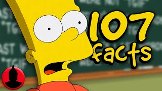 107 Bart Simpson Facts YOU Should Know! (107 Facts S6 E22) | Channel Frederator
