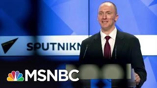 Why The FBI Pursued Former Trump Aide Carter Page | The 11th Hour | MSNBC