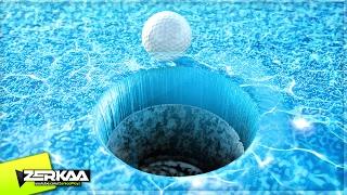 MINIGOLF ON WATER! (Golf It!)