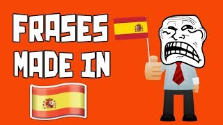 10 Frases Made in Spain 🇪🇸