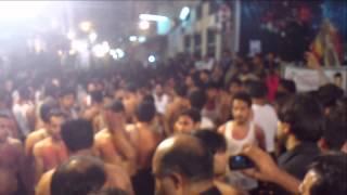 7 Moharram zuljanah 2012 kashmiri noha Mochi gate Lahore