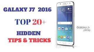 [HINDI] GALAXY J7 2016 TOP 20+ HIDDEN TIPS & TRICKS