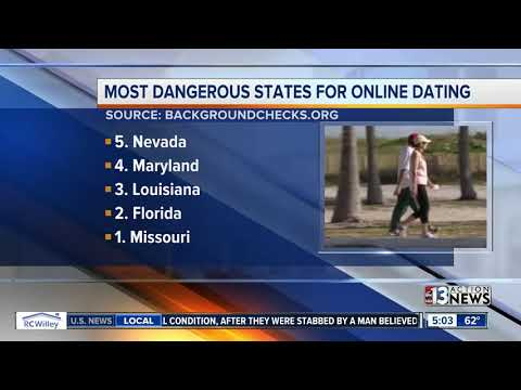 Nevada in top 5 most dangerous states for online dating