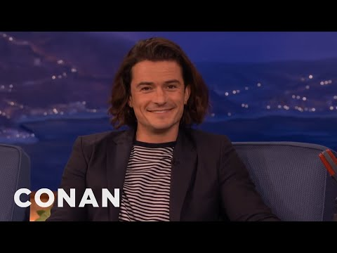 "Orlando Bloom Wants To Make A Porno Version Of ""The Hobbit""  - CONAN on TBS"