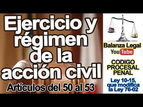 ejercicio-y-régimen-de-la-accion-civil-en-el-código-procesal-penal