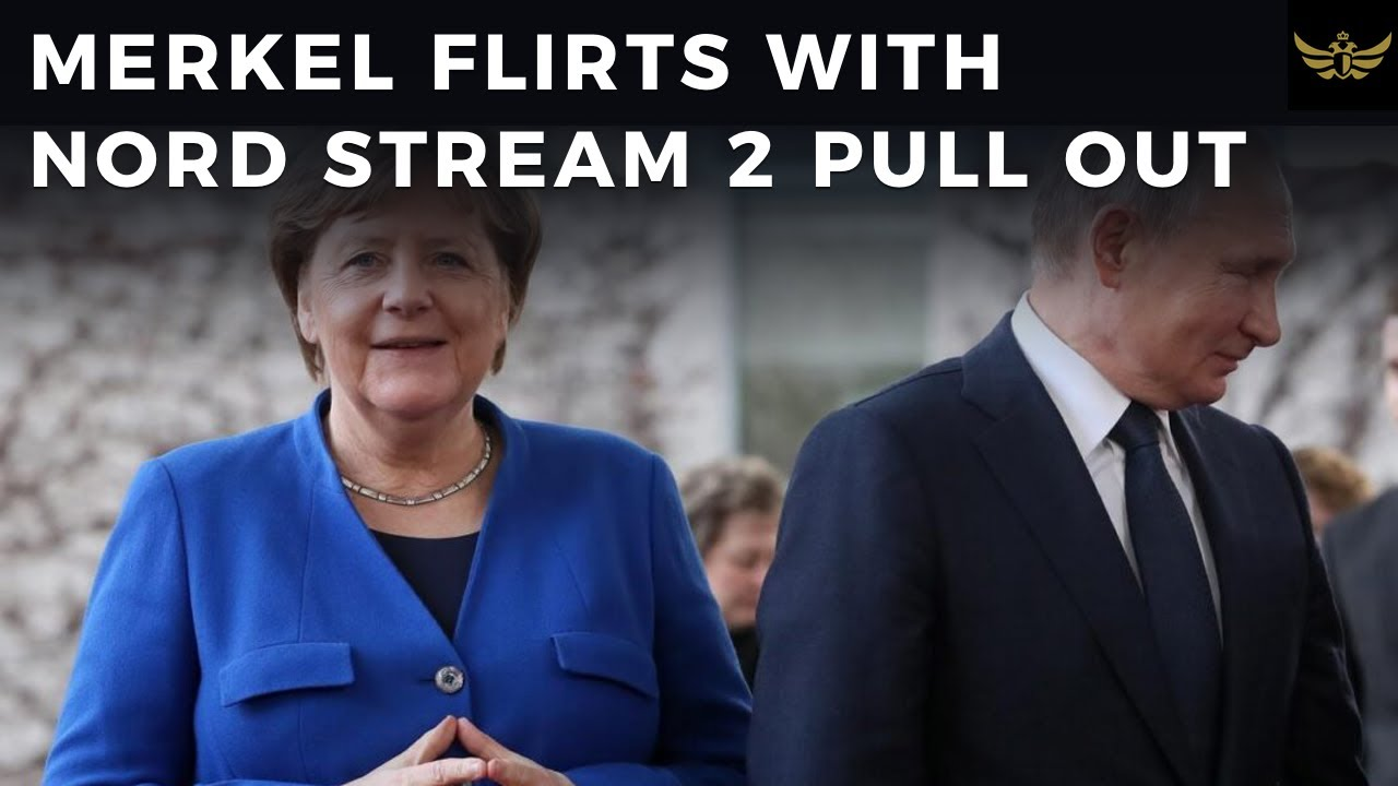 Merkel flirts with pull out from Nord Stream 2 due to Navalny incident