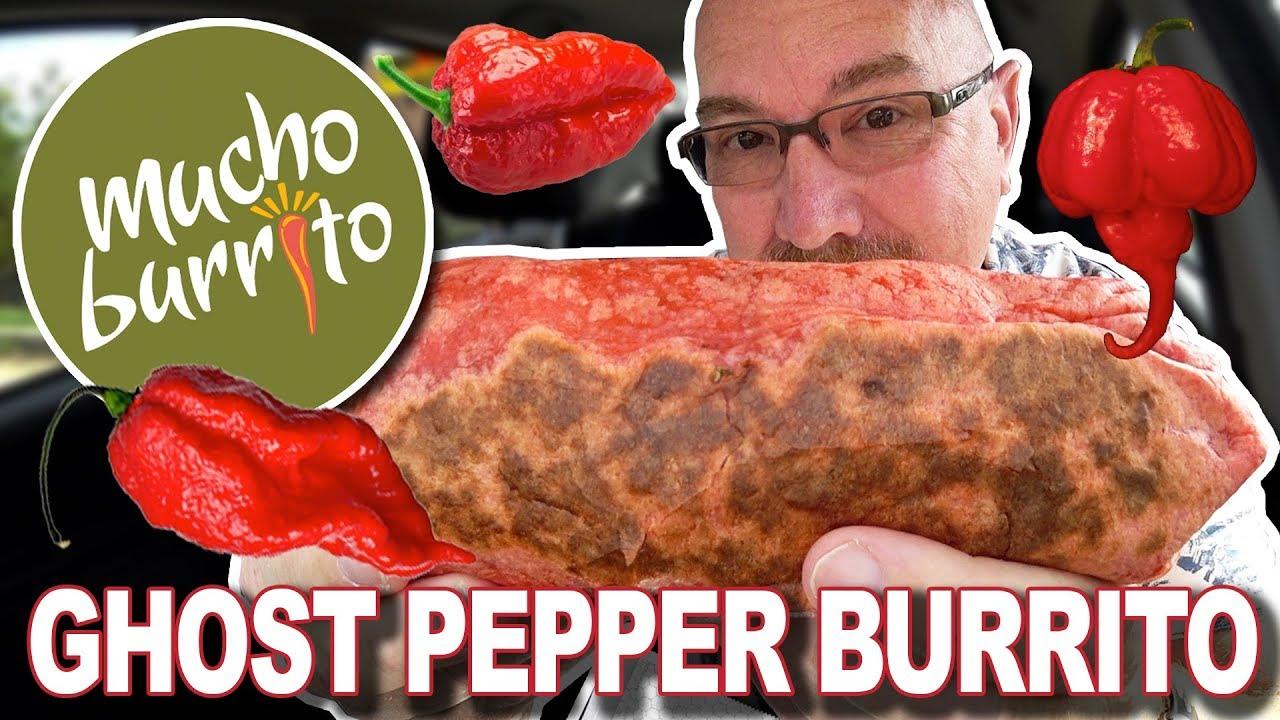 Ghost Pepper Burrito ???????????????? at Mucho Burrito
