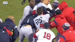 Joe Kelly hits Tyler Austin Brawl, A Breakdown