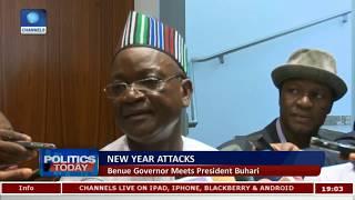 Gov Ortom Meets Buhari As INEC Unveils 2019 Election Timetable |Politics Today|