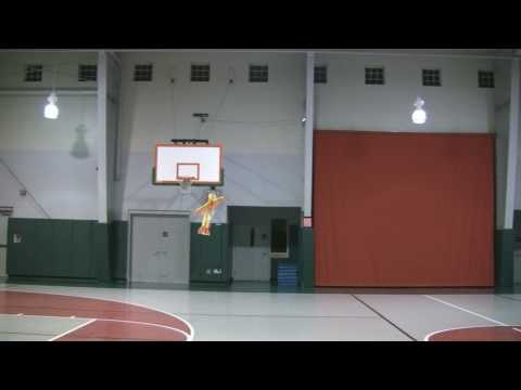 6 Year Old Justin Jee - First Indoor Practice - 28