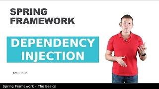 Внедрение зависимостей - 2 - The Basics of Spring Framework