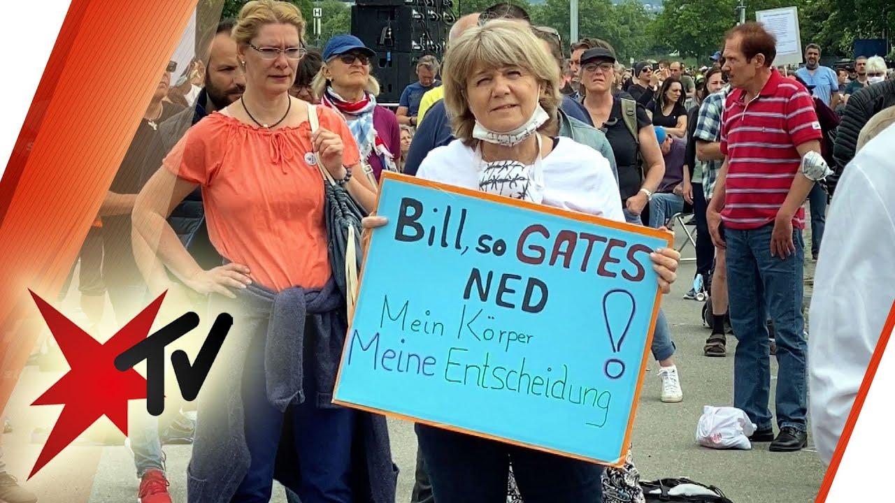 Anti-Corona-Demos: Gates-Verschwörer oder besorgte Bürger – Was sagen die Demonstranten? | stern TV