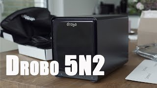Drobo 5N2 Test - Backup für 4K Video Dateien