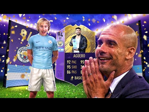 THE BEST TEAM EVER?! 94 PLAYER OF THE MONTH AGUERO! FIFA 18 ULTIMATE TEAM