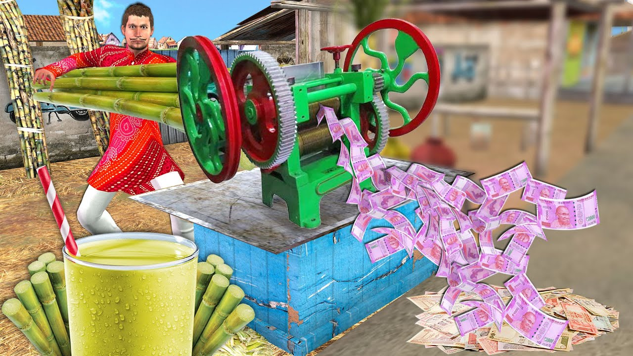 जादुई पैसा गन्ना वाला Magical Money Sugarcane Wala Comedy Video हिंदी कहानिया Hindi Kahaniya Comedy