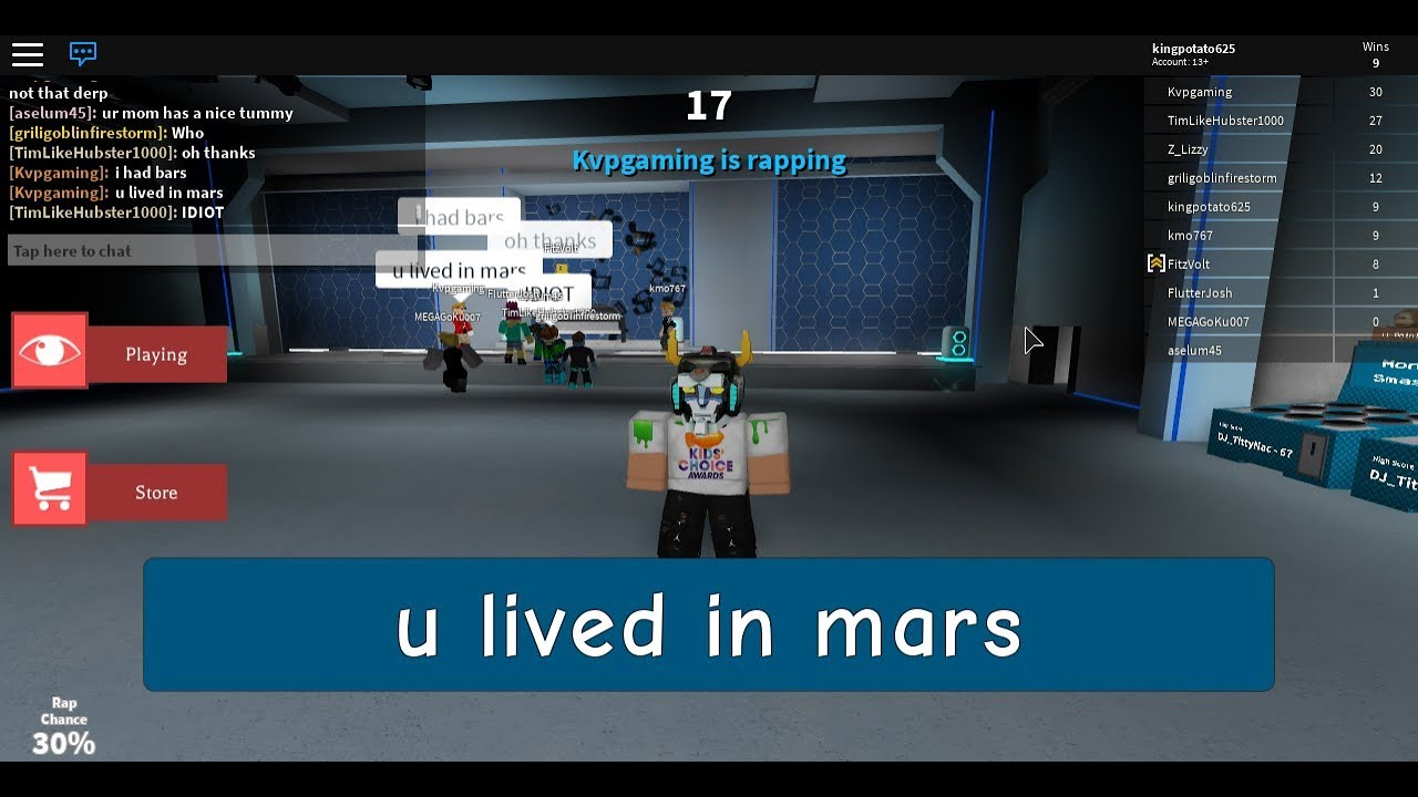 Roblox Rap Battle Raps To Copy And Paste Playing Rap Battle In Roblox Using The Copy And Paste Method To Win Youtube