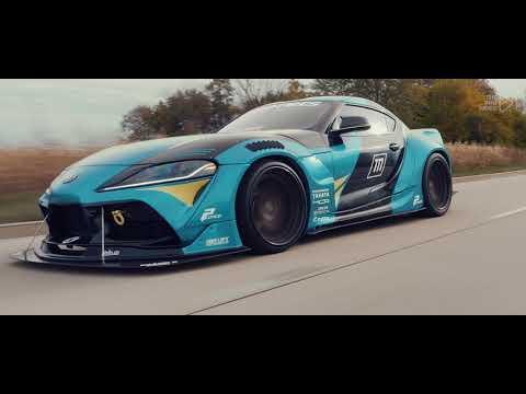 ESTETIKA – На восходе #XZEEZ #Remix (Slowed)  / Toyota GR Supra / 4K