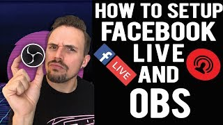 🤔How to Live Stream on Facebook using OBS (Open Broadcast Software) From Your Computer