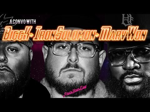 A CONVERSATION with BIGG K , IRON SOLOMON and MARV WON