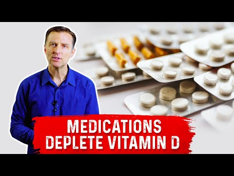 Common Drugs that Deplete Vitamin D