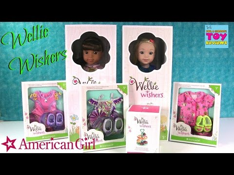 Wellie Wishers Ashlyn Camille Doll Unboxing Review American Girl AG Playset | PSToyReviews