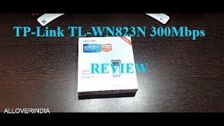 TP-Link TL-WN823N 300Mbps Mini Wireless N USB Adapter (Black) REVIEW