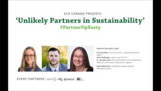 'Unlikely Partners in Sustainability' Panel Event: Audio Recording