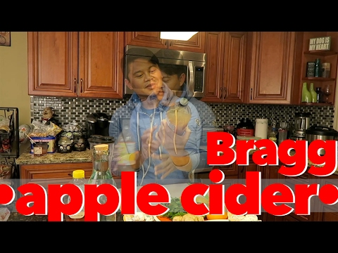Apple Cider Drink | Braggs Apple Cider Vinegar | Apple Cider Beverage | Filipino American