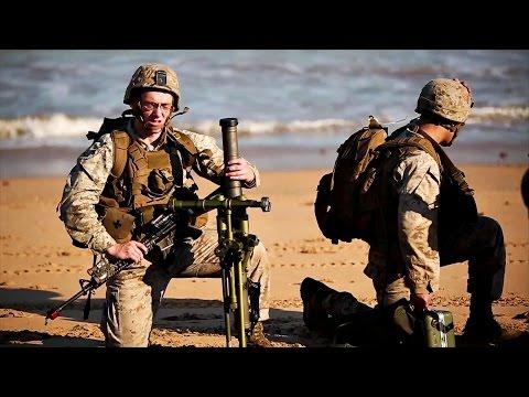 U.S. Marines & Australian Army Beachfront Assault