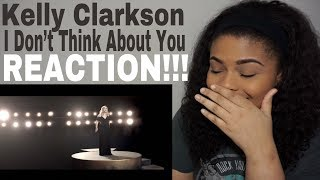Kelly Clarkson - I Don't Think About You // REACTION!!! Mp3