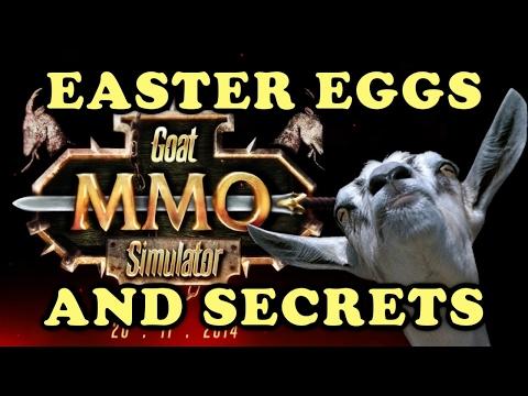 Goat MMO Simulator All Easter Eggs And Secrets HD