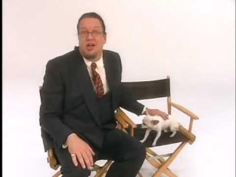Penn & Teller - Profanity - I love you dog.