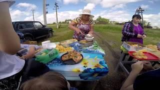 Вкусные остановки на поезде  Путешествие в г Ейск  Азовское море