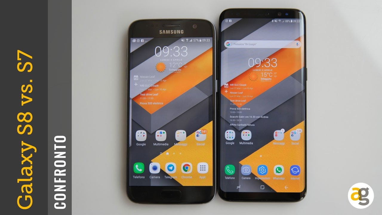 CONFRONTO Galaxy s8 vs s7 ha senso cambiare?