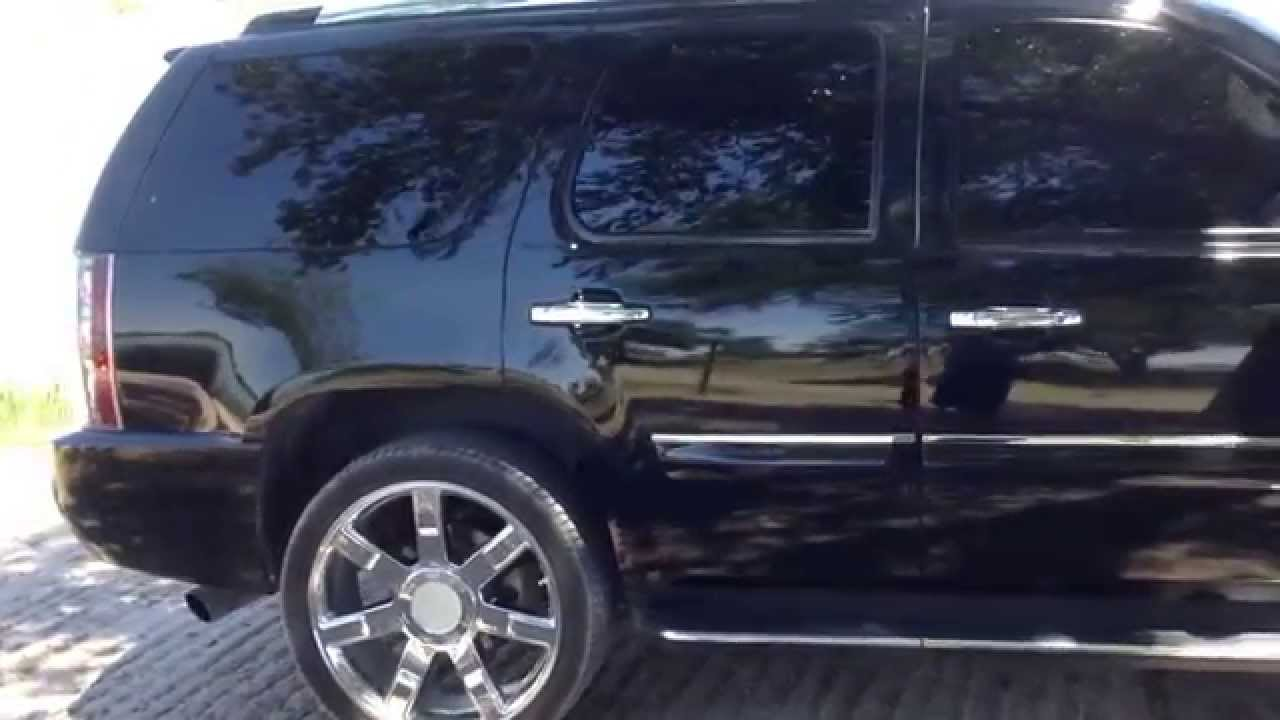 07 Yukon Denali w 24 Escalade style wheels  YouTube