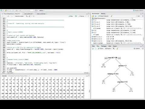Introduction to Data Science with R- Data Analysis Part 4 Submission & Final Thoughts   YouTube 720p