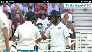 India Vs England 3rd test cricket Day3 Match